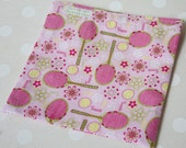 Reusable Sandwich Bag - Pink Love and Tennis LAST ONE