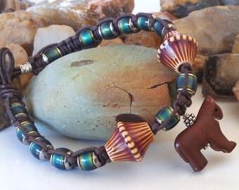 Cowgirl  Pony Rainbow Bracelet