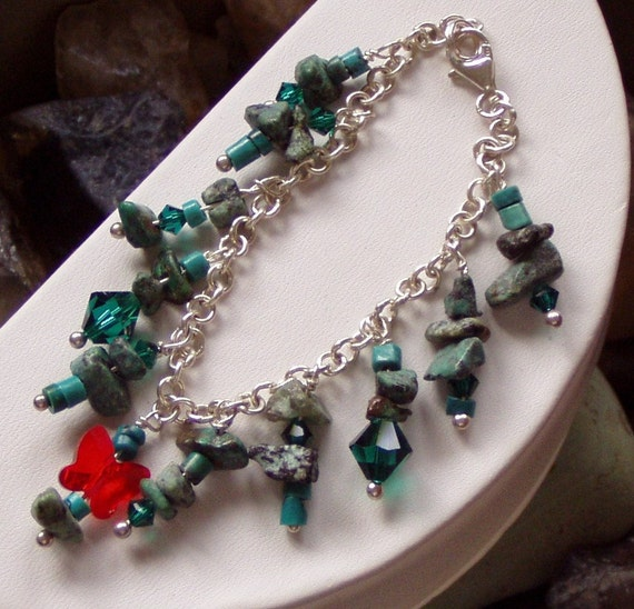 Evolution Of Positive Change African Turquoise Bracelet