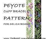 Peyote Cuff Bracelet Pattern Vol.9 - PDF File PATTERN