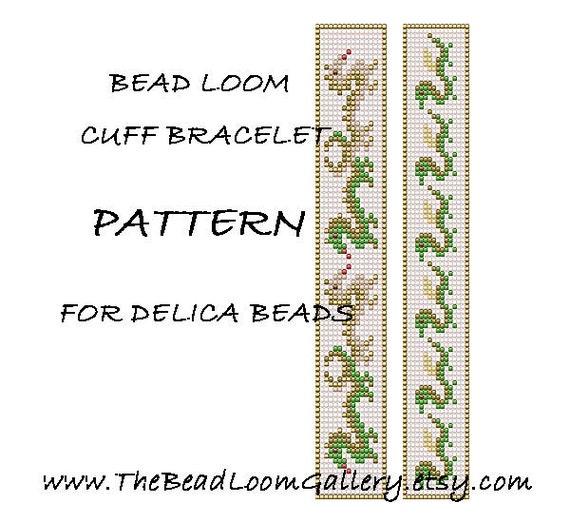 bracelet pattern vol 9 vol 18   dragon bracelets   pdf file pattern