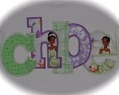 Custom Boutique Disney vacation personalized PrInCeSs TIANA princess and the Frog Applique Shirt with your child's name