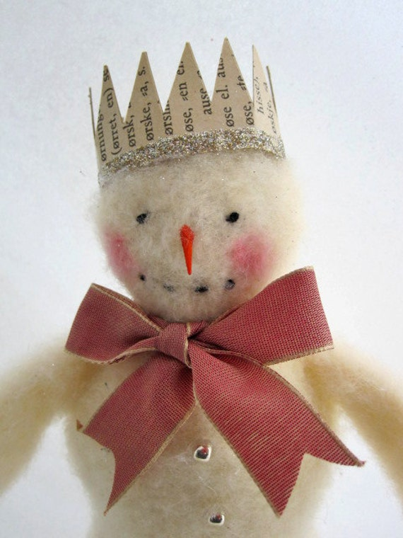 Such a Sweet and Beautiful Snowman