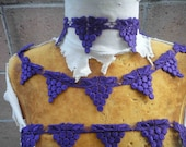 Very cute purple    color   venice  lace  2   yard listing