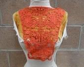 Cute pieces venice   applique  red    color 1 pieces listing