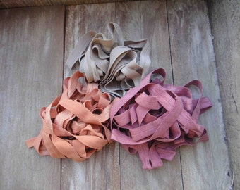This listing is for 6 yards 2 of each color