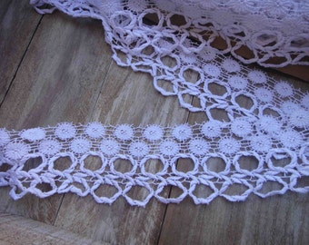 Nice white   venice lace 3  inches wide 1 yard listing