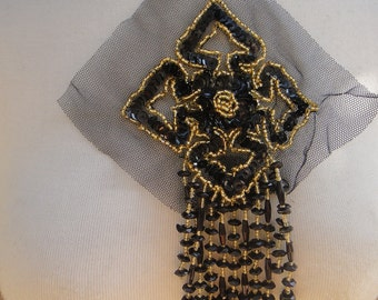 Cute beaded  applique with sequence