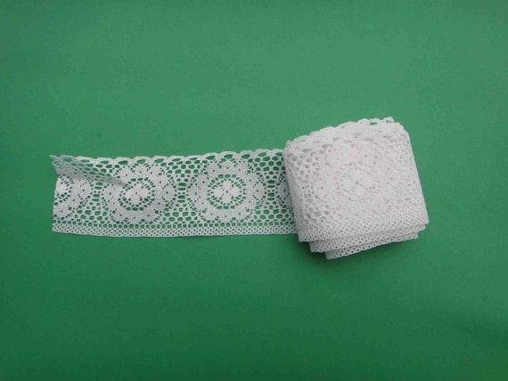 4 yds. White lace