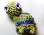 Crocheted Cotton Turtle