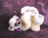 InSTAnt DOwnLOad  -- Wee Cubs PDF e-Pattern Artist Miniature Teddy Bear by Sheila Leigh