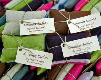 Lavender Sachets/Dryer Sachets Provence Top Quality Lavender Pillow Soothing Linen
