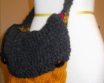 Chunky Cable Purse