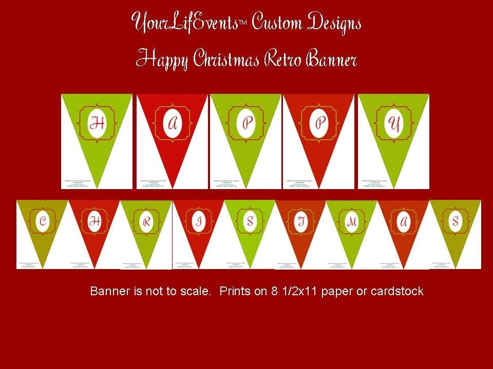 It's just an image of Epic Happy Holidays Banner Printable