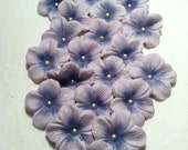 Cake Decorations Light Purple Gum Paste Blossoms 25 piece EDIBLE