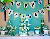 Frog Prince Happy Birthday Banner - DIY Printable