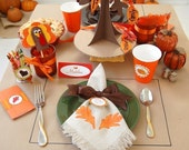 Thanksgiving Kid's Printable Party Pack - SALE