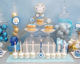 Hanukkah Collection - DIY Printable Party