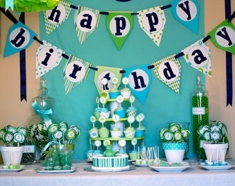 Frog Prince Custom Birthday Party Pack - DIY Printable - ICING SMILES