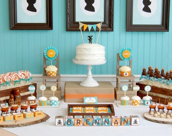 Goldilocks and the Three Bears Birthday Party Pack as seen on AMY ATLAS- DIY Printable
