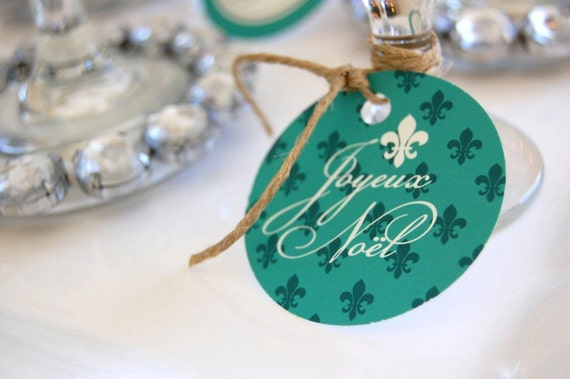 Joyeux Noel Printable Christmas Dinner - DIY - Charity listing