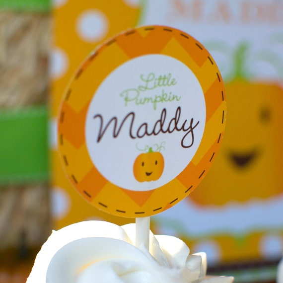 Our Lil' Little Pumpkin Patch Custom Birthday Pack - DIY Printable as seen on Hostess Blog
