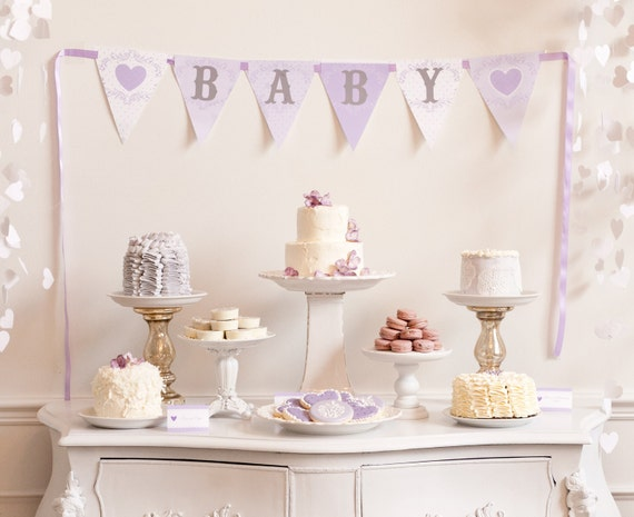 Baby Love Baby Shower Printable Party Pack - DIY