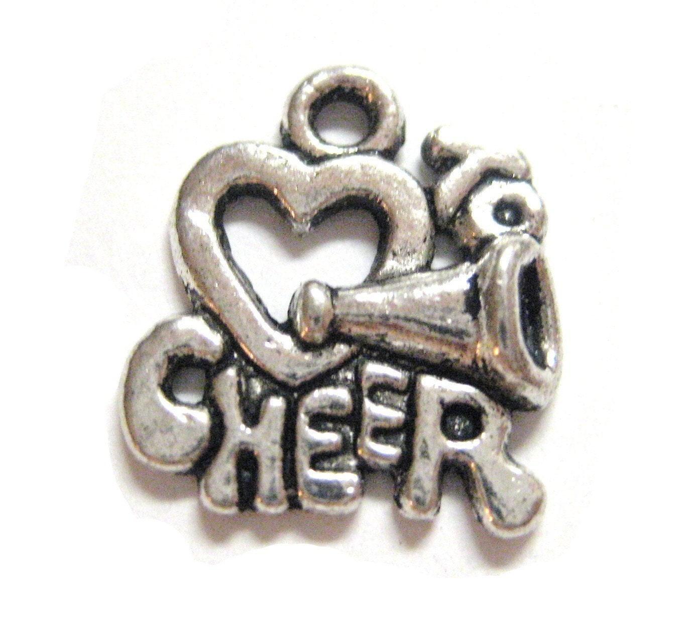 Cheer Charm Bracelets: 20pcs Cheerleading Cheer Charms Chear Leader Teen High School