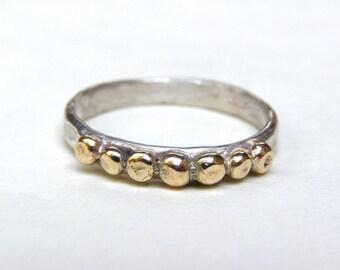 Gold Ring, Wedding Bands, Stackable Rings, Anniversary Rings, Engagement Rings, Bridal Set, Wedding Rings