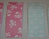 Colorful Skulls Matchbook Notepads