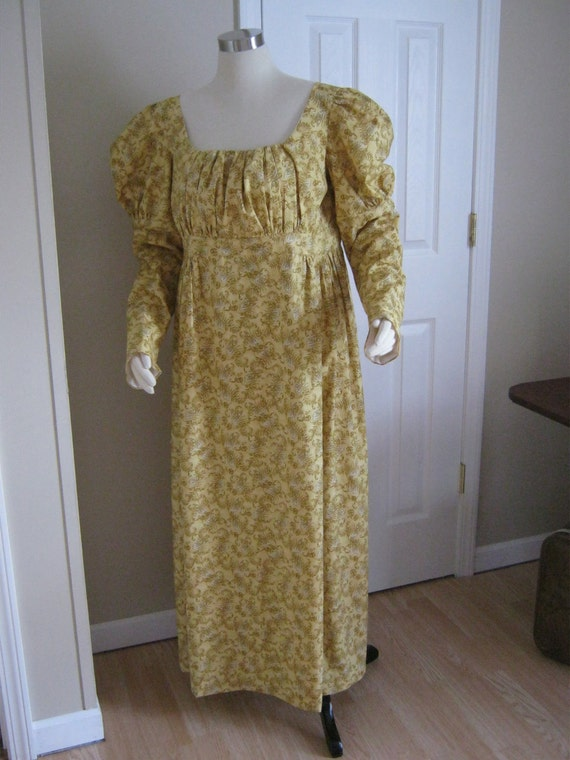 1795-1825 Cotton Dress