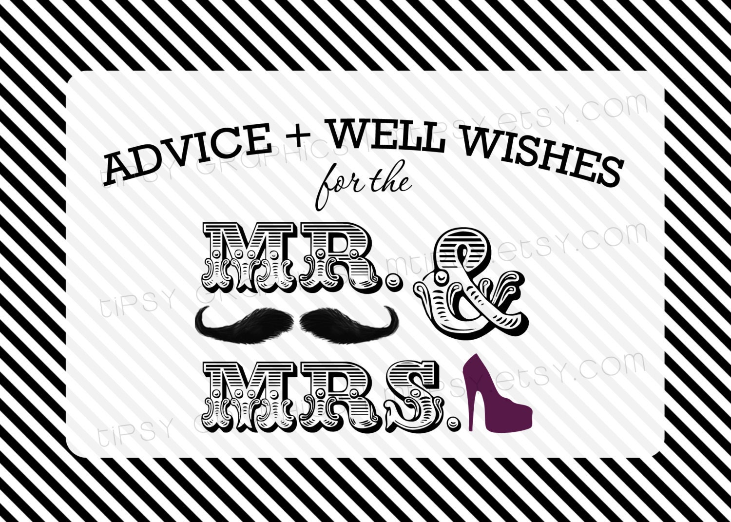 advice and well wishes for the mr  u0026 mrs  mustache and high