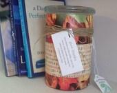 Give Thanks - Thank Bank, Memory Jar, Prayer Jar