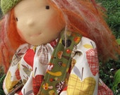All Natural Waldorf-Inspired Doll by KD's Doll Shop