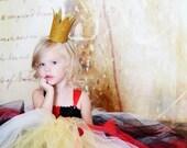 Queen of Hearts Costume Tutu Dress