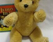 SALE--Big, Sweet 1950's Pure Wool Mohair Bear