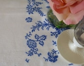 Vintage French Table Cloth