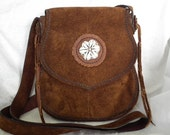Suede Smile Handmade Leather Bag