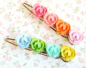 Rainbow  Barrettes