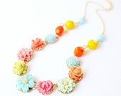Happy Flower Necklace