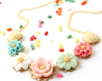 Children Pastel Necklace