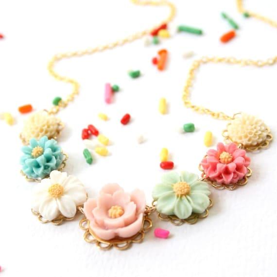 Children Pastel Necklace