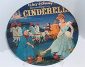 "Cinderella One Placemat. Charger, table topper, home decor, wall accent 12"" recycled album cover/vinyl record"