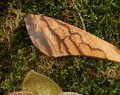 Wood hair stick zebrawood