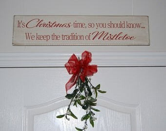 IT'S CHRISTMAS TIME Wood Sign