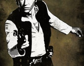 Han Solo from Star Wars Pop Art Print 11 x 14