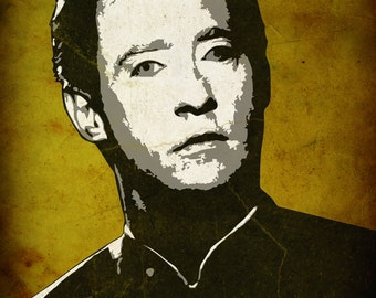 Data from Star Trek The Next Generation 8 x 10 Pop Art Print
