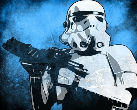 Star Wars Stormtrooper From The Star Wars Saga Pop Art Print 8