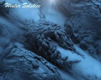 Winter Solstice - Yule greeting card