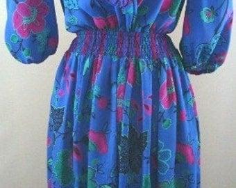 Retro Bohemian Dress